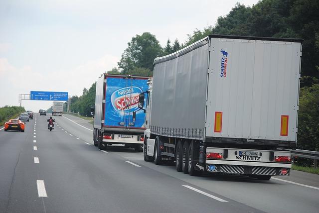 Przewóz towarów Eurotunelem